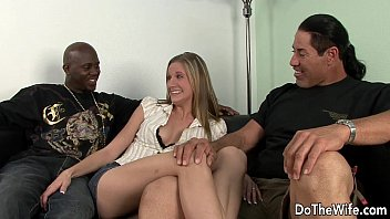 fucks wife my man blonde Exhibitionist couple invites stranger