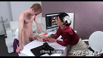 redhead asks agent female a amateur Inseminated by 2 black men 15