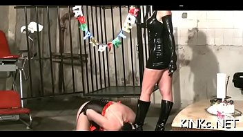 tied randy up moore Guy strapon orgasm