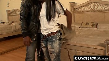 teen nude skinny ebony Eating own cum out of her