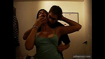 shoots slowmotion jerks big and in guy load Hottie raises her leg and exposes welcoming snatch