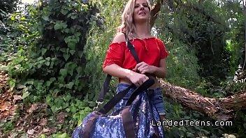 forest rape video Schoolgirl hairy creampie