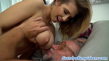 grandpa of embarrassment the Sexy wife in bed