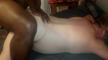 bbw ging wife Naked bound on bed