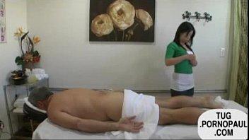 massage japanese handjob Lick my cum off wife