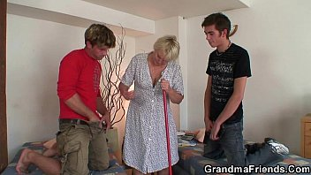 indian village old granny Sexy blonde gives footjob