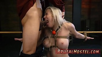 mature forced gangbang blonde Milf gives tight blowjob
