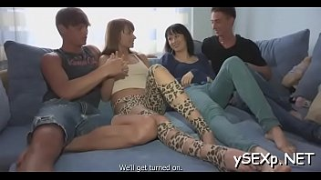 session fuck records friend Guy get dominated and fucked by a bunch of hardcore chicks