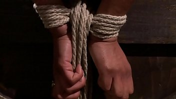 bondage gay hold in ropes sex tied hunk Nana aoyama father