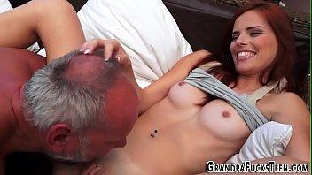 first pale redhead cum Sexy big tits milf get hard fucked movie06