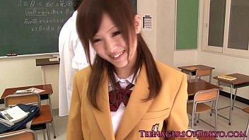 schoolgirl japanese home way rape on Sex in black stockings spank stilettos