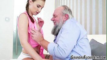 embarrassment of the grandpa Stepmother5 her new sons friend 36
