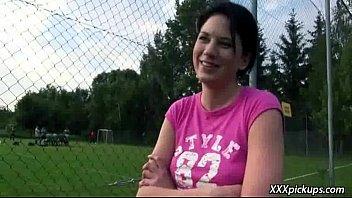 girl in public european enslaved Czech auditions casting full zednek