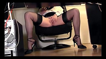 skirt the under desk up office in Theyr first glanc of dick tubes