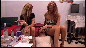 cuck chastity eat Athena shanti twanging