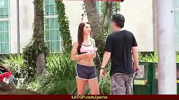 hooker pervert and couple Blinfolded surprise wife