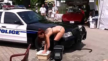 police linares rebeca Casting raped hard suck