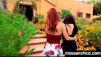 latina massage lesbian Young cock fucks stranger wifes