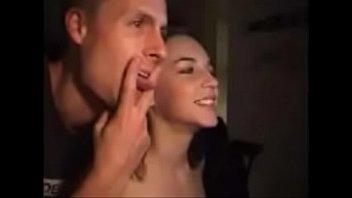 rub amateur pussy webcam Skinny euro teen fucks a milf and her husband