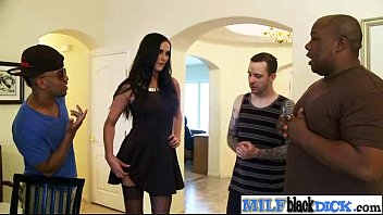 woman latino dick black British blonde bathroom dp