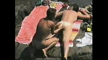beach handjob amateur at the Escort duo threesome