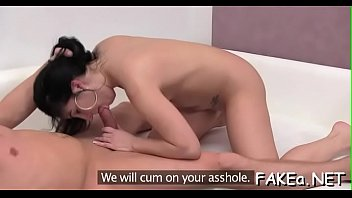 japanese monster and Asain mom sucking her son cock
