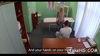 examination doctor medical Posh women playing with a strapon