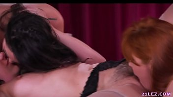 threesome hot tanja with Gangbang with brides fucking shafts