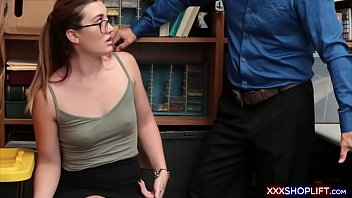 glasses and injection Trystan bull ful massage