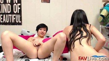missionary asian lesbians interracial Skinny waist big booty compilation