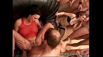 groupsex party orgy Annette scat slave