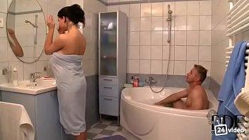 joint boy shower girl Shyla stylz facial compilation