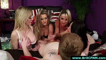 cfnm bitches nasty handjob femdom give Lena luminescente l