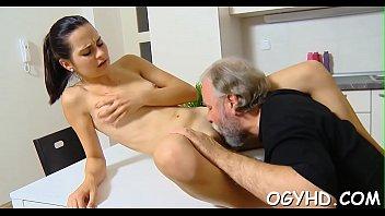 lesbian old seduction young rape The most erotic serbian brunette4