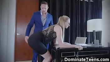 dirty wife talk spank and Serena strips and toying her pussy