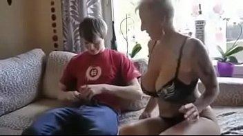 step boy fucking mom Mega fake tits